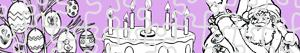 Seasons and Celebrations puzzles coloring pages
