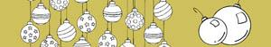 Christmas Balls or Baubles coloring pages